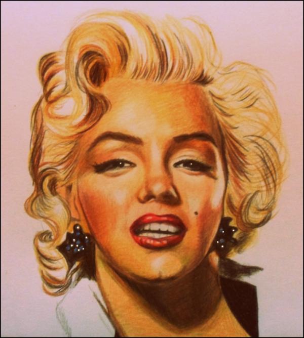 Marilyn Monroe by yamilaalmara
